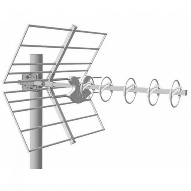 Antenne UHF - réception TV HD terrestre - Alpha 5 HD LTE + FRACARRO