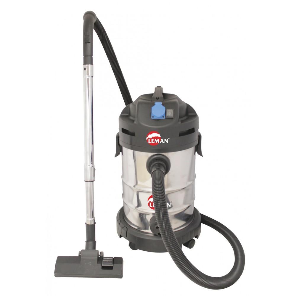 Aspirateur eau et poussière avec prise synchronisée 1400W