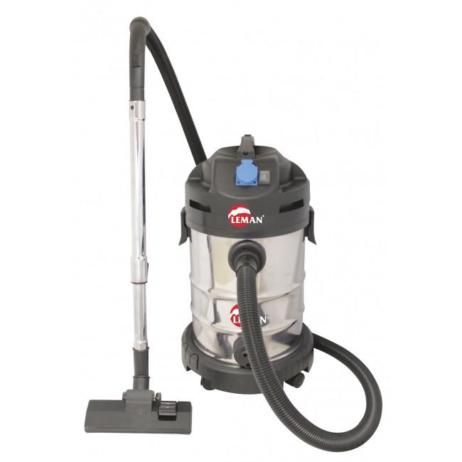Aspirateur eau et poussière avec prise synchronisée 1400W - LOASP301 LEMAN