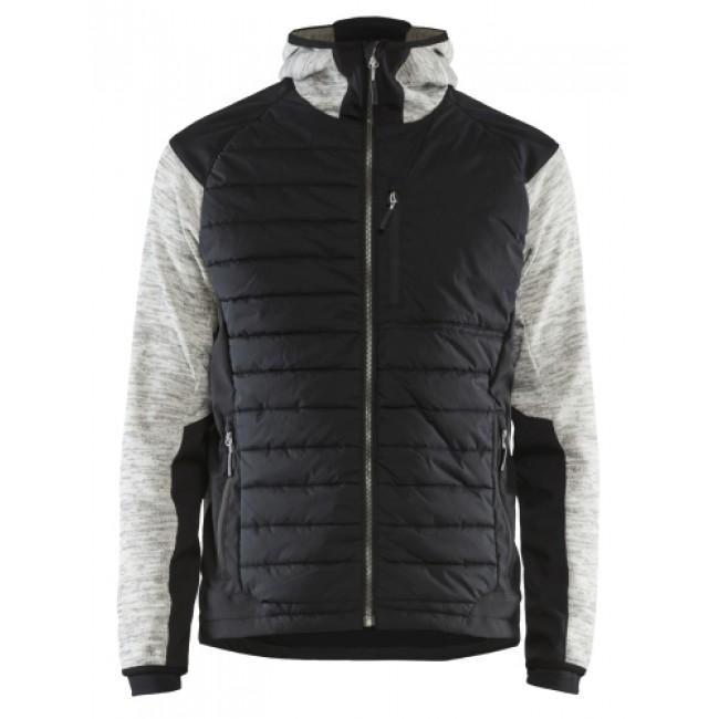 Veste à capuche hybride - rembourrage thermo - 5930 BLAKLADER
