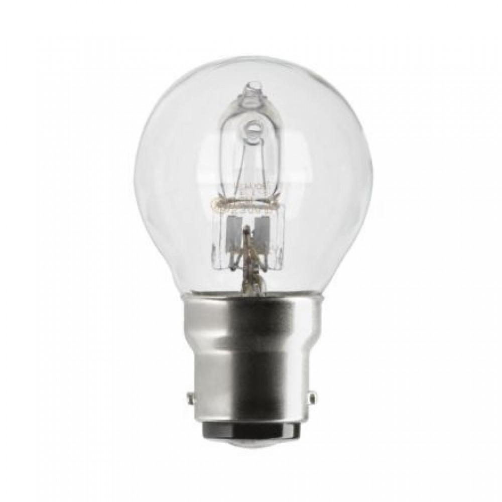 lampe halog ne sph rique tu culot b22 ge lighting bricozor. Black Bedroom Furniture Sets. Home Design Ideas