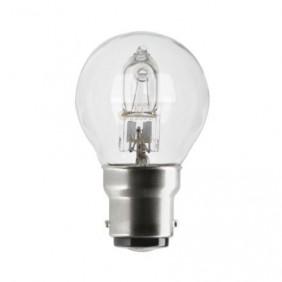 Lampe halogène sphérique TU - culot B22 GE LIGHTING