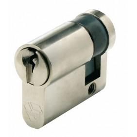 Demi cylindre - V5 5100 - variure UA 1001 - laiton nickelé VACHETTE