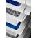 Panier-tiroir coulissant - système suspendu - hauteur 85mm