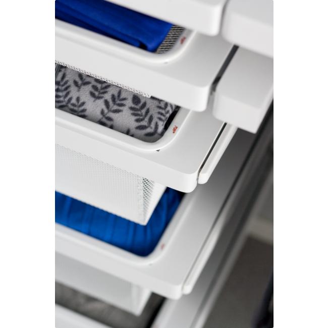 Panier-tiroir coulissant pour système suspendu-hauteur 85mm ELFA