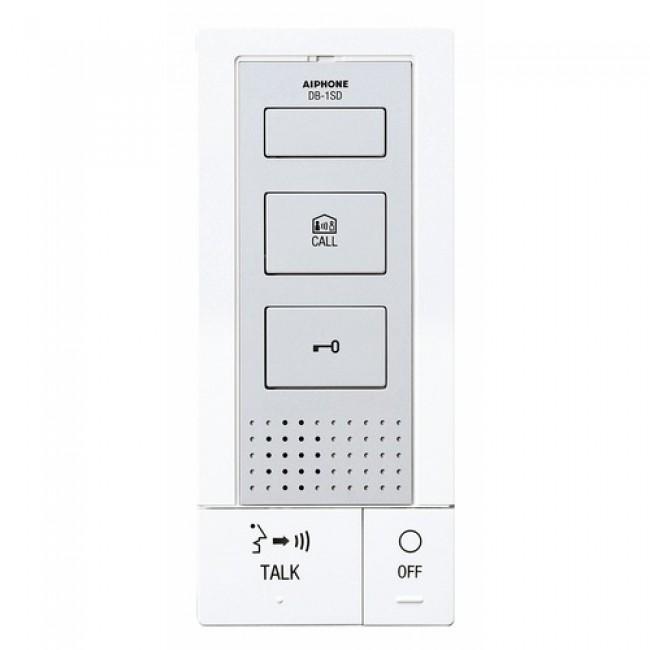 Interphone DB1SD à fils avec poste intérieur supplémentaire