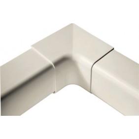 Goulotte de climatisation 80 mm : angle rentrant 90° C.B.M