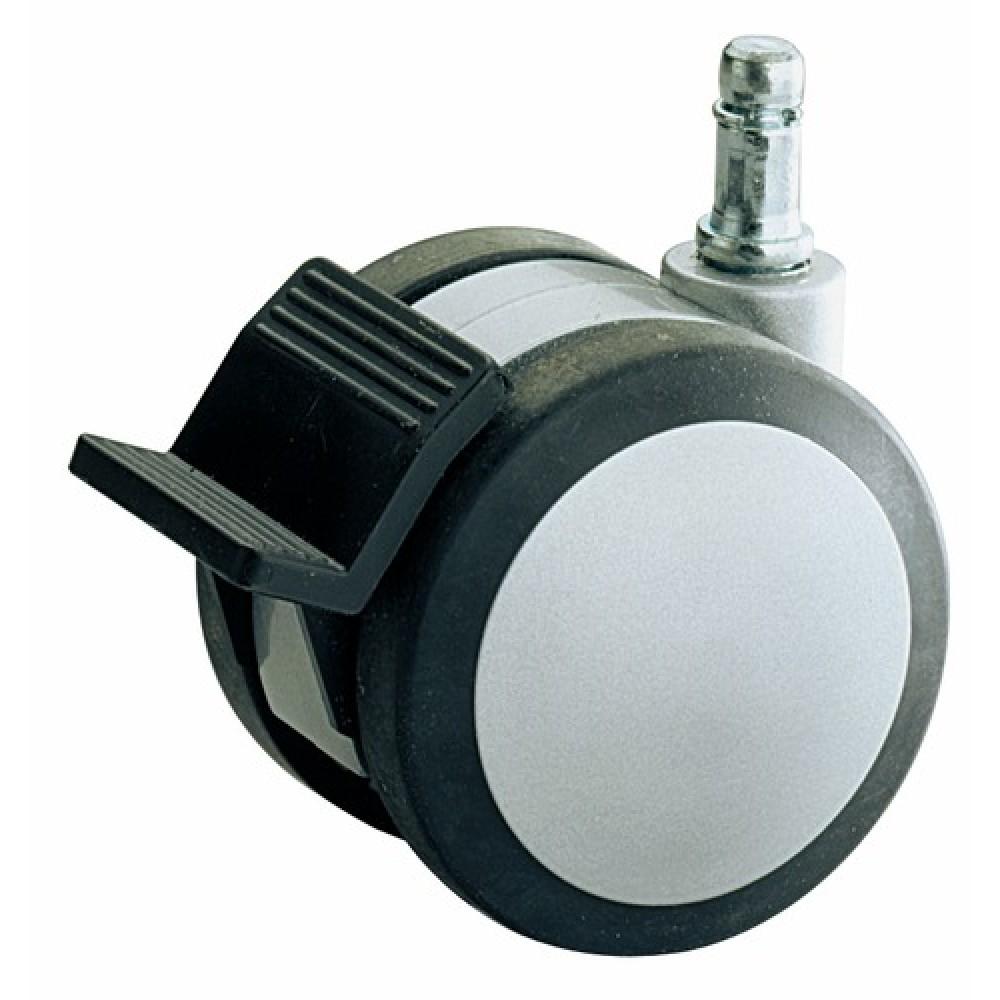 Roue pivotante avec frein et pr mont e pour protection de - Roulette pour meuble avec frein ...