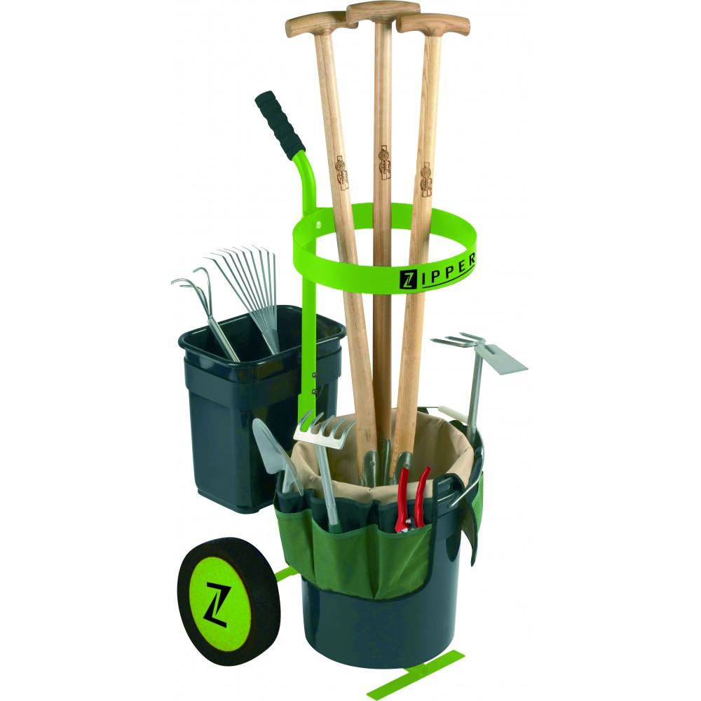 chariot d 39 outils de jardin uvgw1 zipper bricozor. Black Bedroom Furniture Sets. Home Design Ideas