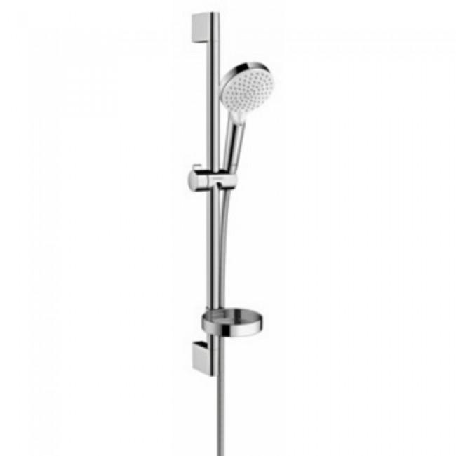Ensemble de douche - avec porte-savon - Croma Vario 2 jets / Unica'Croma HANSGROHE