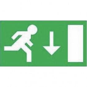 Étiquette de signalisation - blocs d'éclairage de secours - BAES LUMINOX