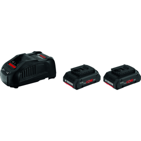Batterie 18V 4Ah ProCORE x2 + chargeur GAL1880 CV Professional - 1600A016GF BOSCH