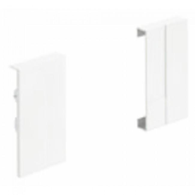 Raccords d'angle pour face avant InnoTech Atira-hauteur 70 mm-blanc HETTICH