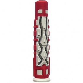 Cheville universelle - bi-matière - avec collerette - MX RED HEAD