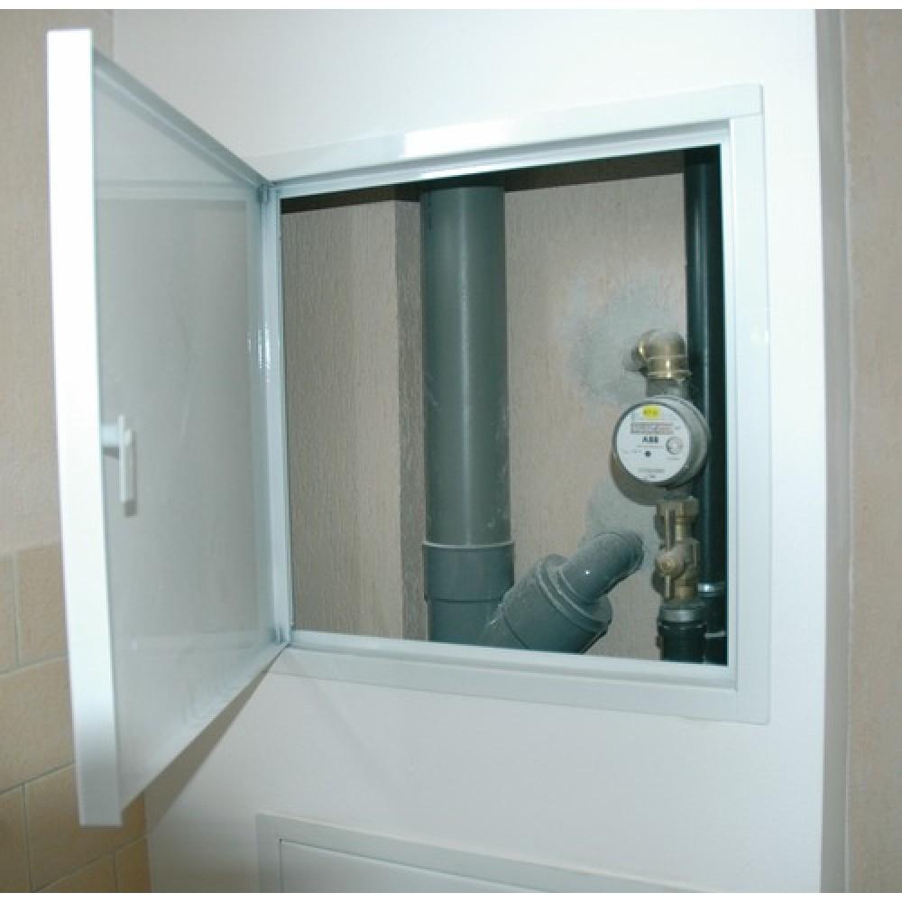 Trappe de visite baignoire 40x40cm visser ou sceller - Trappe de visite salle de bain ...