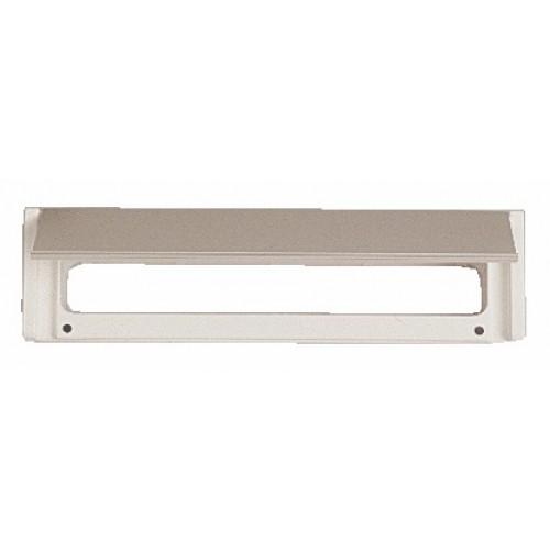 Entrées de boîtes aux lettres aluminium