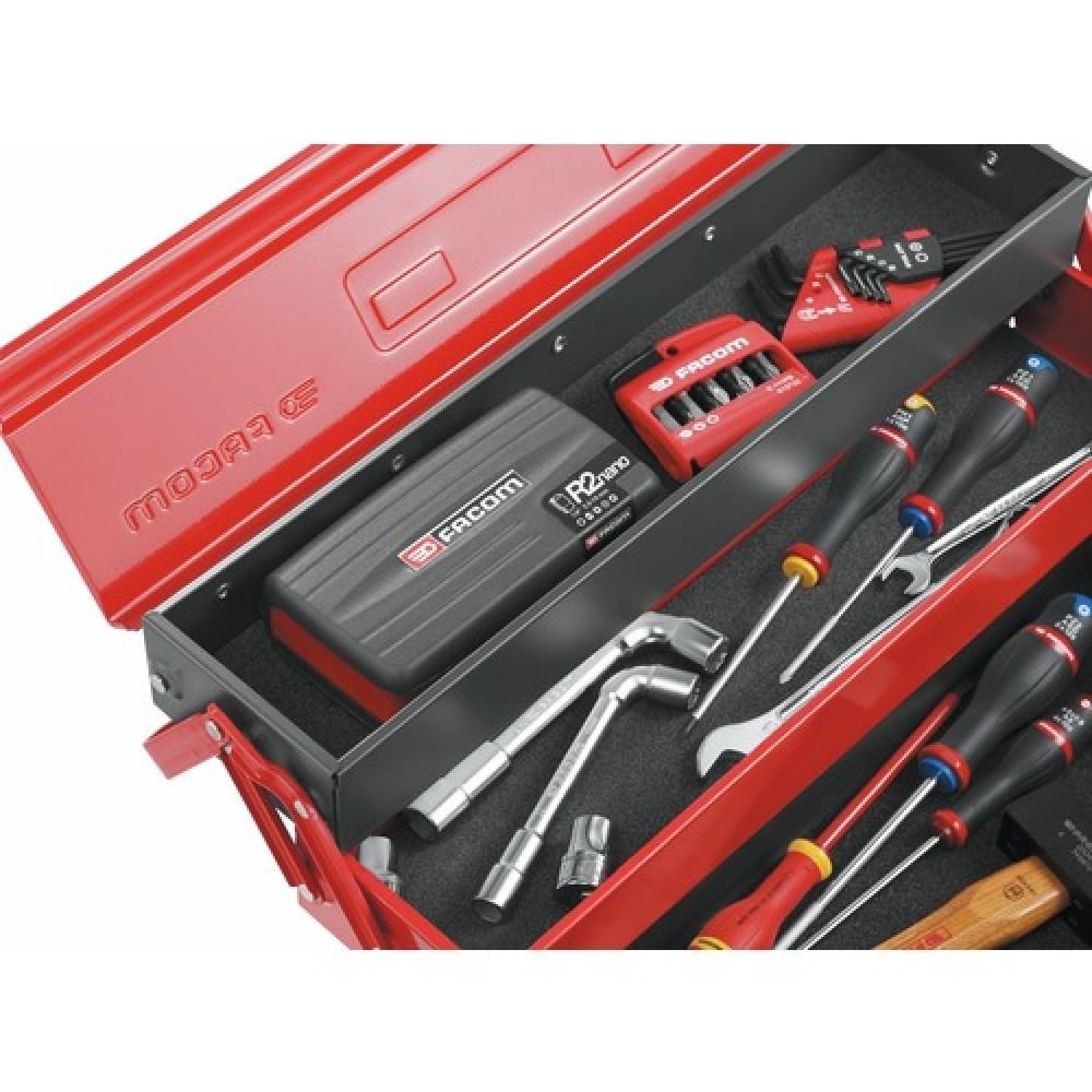 Coffret Compact 38 Outils Douilles Cliquet 1 4 Vissage R 360nano Facom