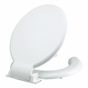 Abattant double pour wc - design anti-contact SIAMP