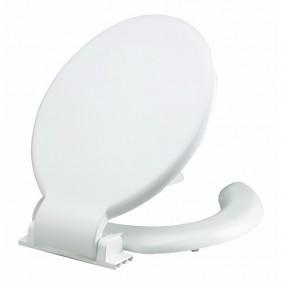 Abattant double pour wc - design anti-contact SIAMP