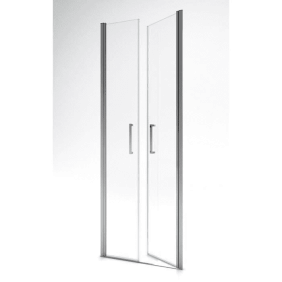 Paroi de douche - Saloon - profilés chromé - différentes dimensions AURLANE