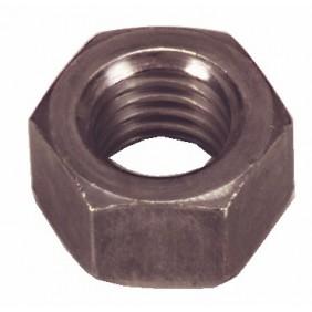 Écrous hexagonaux Hu - acier brut BAFA