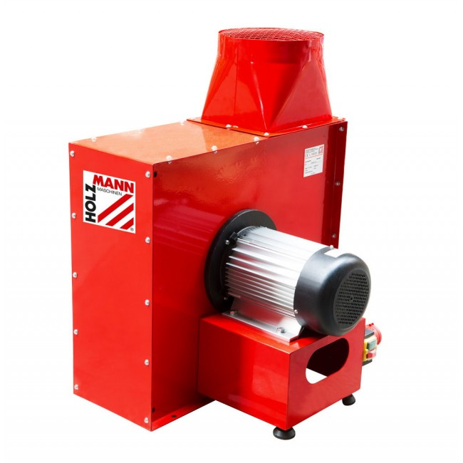 Turbine aspirateur à copeaux - 2000 ou 4000 watts - 400 volts HOLZMANN