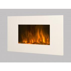 Cheminée décorative & design - White Loft - 2000 W CHEMIN' ARTE