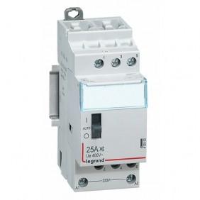 Contacteur silencieux tétrapolaire 25A - 230 V - tarif heures creuses LEGRAND