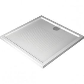 Receveur de douche à poser extra-plat 100x80 cm - New Olympic NOVELLINI