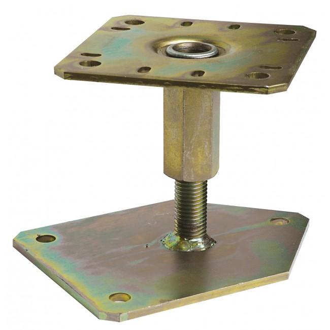 Pied de poteau en angle - réglable 100 à 150 mm - PBLR SIMPSON Strong-Tie