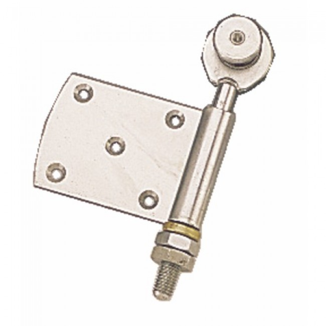 Roulette simple à demi-charnière pour porte coulissante ROB