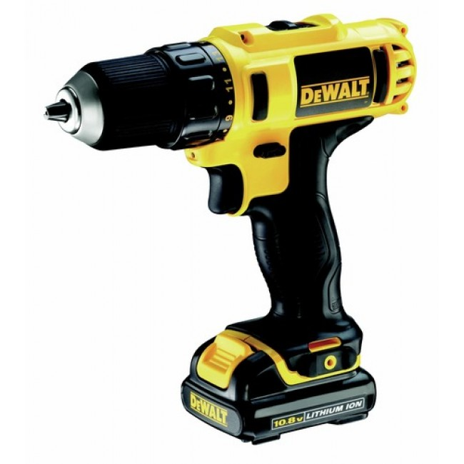 Perceuse visseuse li-ion 10,8 volts DCD710D2 DEWALT