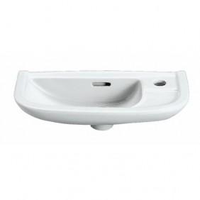 Lave mains en céramique - dimensions 50x23 cm -  Linea SELLES
