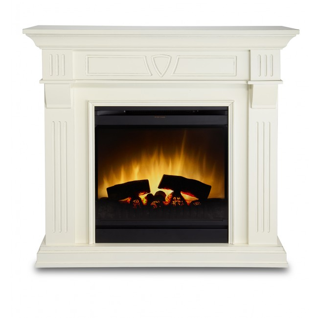 Cheminée décorative Optiflame - 750/1500 watts -  Beethoven Antique GLEN DIMPLEX