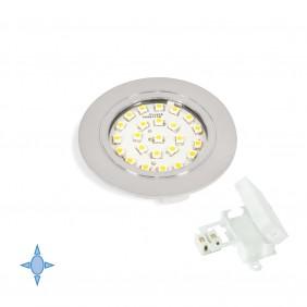 Spot LED à encastrer Crux-in - lumière blanc froid EMUCA