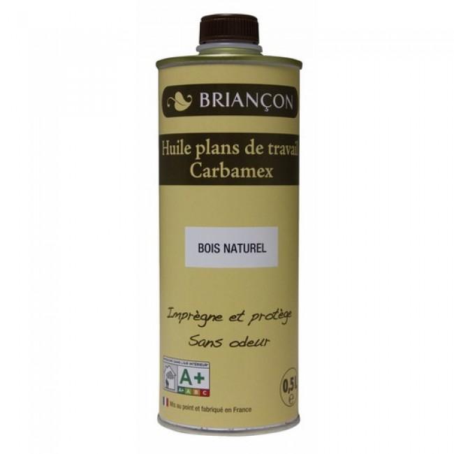 Huile pour plan de travail - 500 ml - Carbamex BRIANCON
