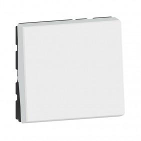 Poussoir Mosaic - 2 modules - 6A - blanc LEGRAND