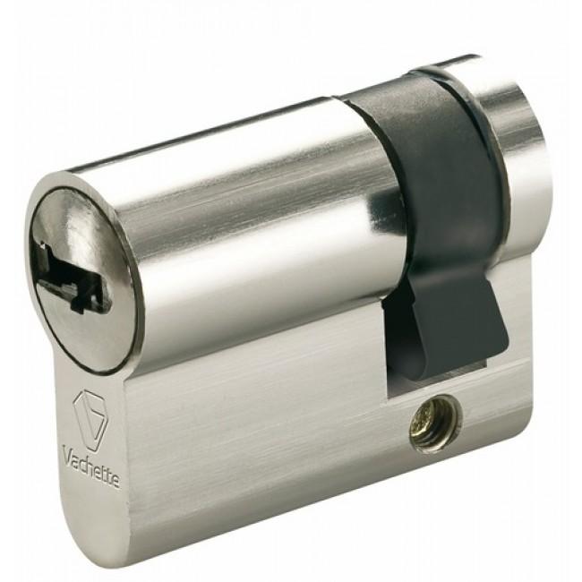 Demi cylindre - 30 x 10 mm - VRX - varié - laiton nickelé VACHETTE