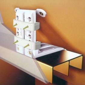 Système de fixation sous pente Inclinofix PRUNIER