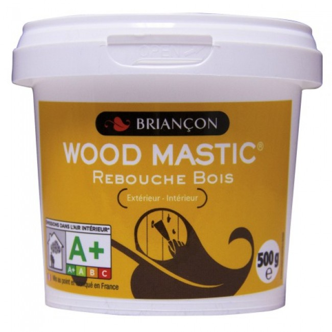 mastic bois en poudre sans solvant wood mastic. Black Bedroom Furniture Sets. Home Design Ideas