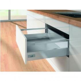Kit tiroir tringles InnoTech Atira-H144mm-Silent System 30kg HETTICH