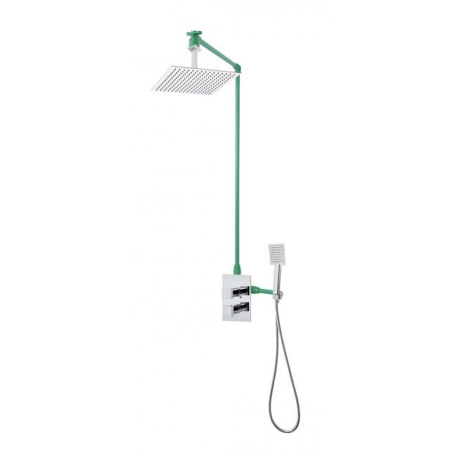 Colonne de douche encastrable plafond LOCK avec mitigeur CREMONA SARODIS