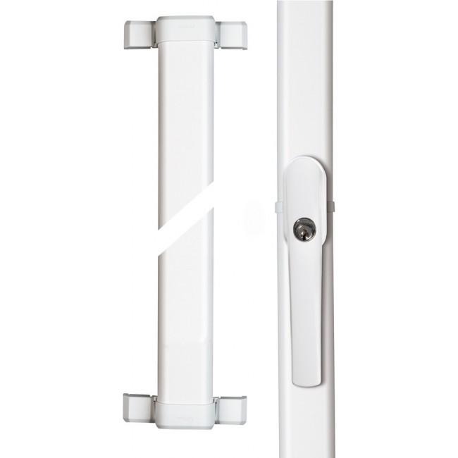 Serrure de fenêtre multipoints - avec poignée à clé - FOS550 ABUS