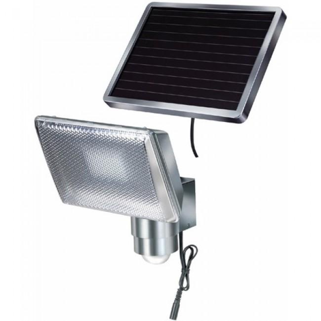Projecteur - mural - Led - solaire - Alu - SOL 80