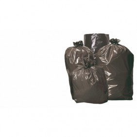Sacs poubelles noir 130 litres, par 20 sacs BRICOZOR