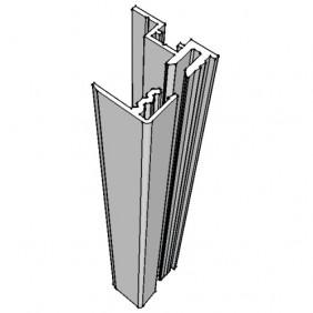 Profil de fixation pour miroir 4 ou 6 mm Quinca Décor