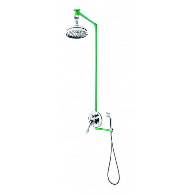 Colonne de douche encastrable plafond VARA avec mitigeur NAPOLI SARODIS