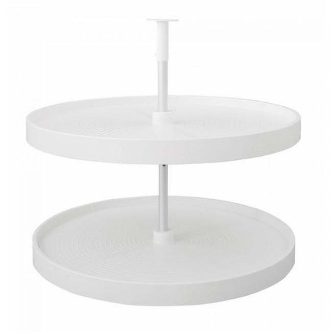 Plateaux tournants 4/4 pour meuble d'angle EMUCA