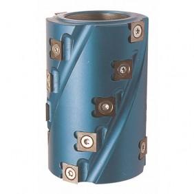 Porte-outils hélicoïdal à chantourner et calibrer ISOCÈLE