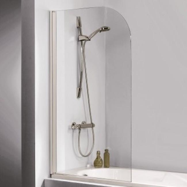 Pare-baignoire pivotant et réversible - deux finitions - Atout 2 LEDA